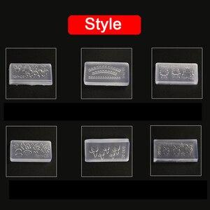 Image 3 - 3D Acryl Form für Nagel Kunst Dekorationen DIY Polnischen Werkzeug Silikon Formen Nail art Vorlagen Muster Form Nägel Kunst Salon design