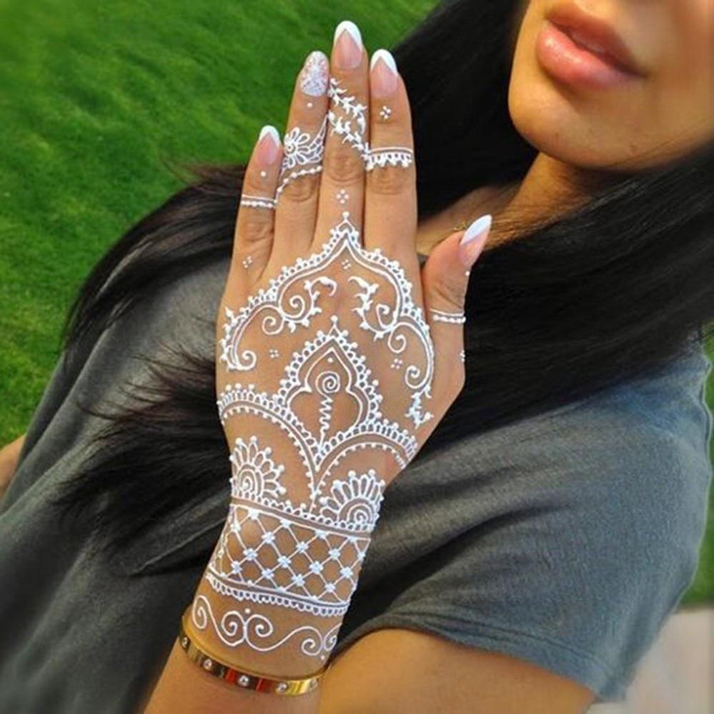 Aliexpress Com Beli Seksi Henna Anti Air Tato Cones Warna Coklat