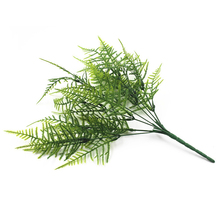 1pcs Artificial Asparagus Fern Home Decoration Simulation Plant Potted Green Plastic Fake Grass 35 Mesh Persian Bamboo M18