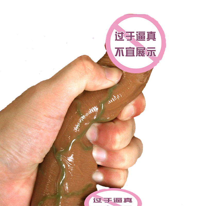 Soft Realistic Dildo Vibrator Heating Big Suction Cup Dildo Soft Penis Phallus Adult Sex Toys for Women in Dildos from Beauty Health