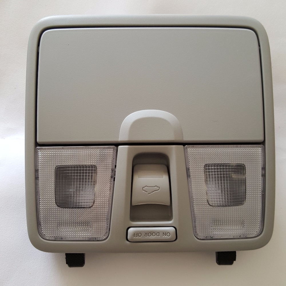 Upgrade Front map lamp reading light with glass box for Hyundai IX25 Creta 2015 2016 2017 gray reading literacy for adolescents