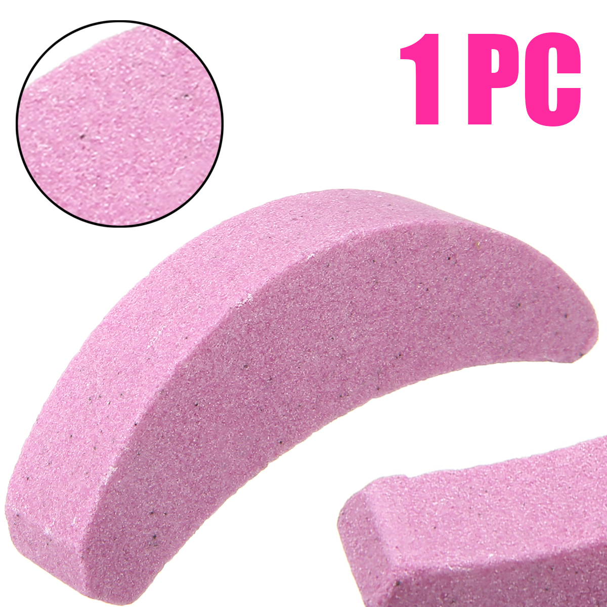 New Moon Type Grinding Chain Saw Teeth Sharpener Tool Whetstone Saw Chain Sanding Stone For Woodworking Abrasive Tools
