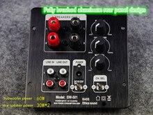 Placa do amplificador 2.1 da placa do amplificador do subwoofer placa totalmente digital integrada do amplificador de potência com saída 2.0 independente
