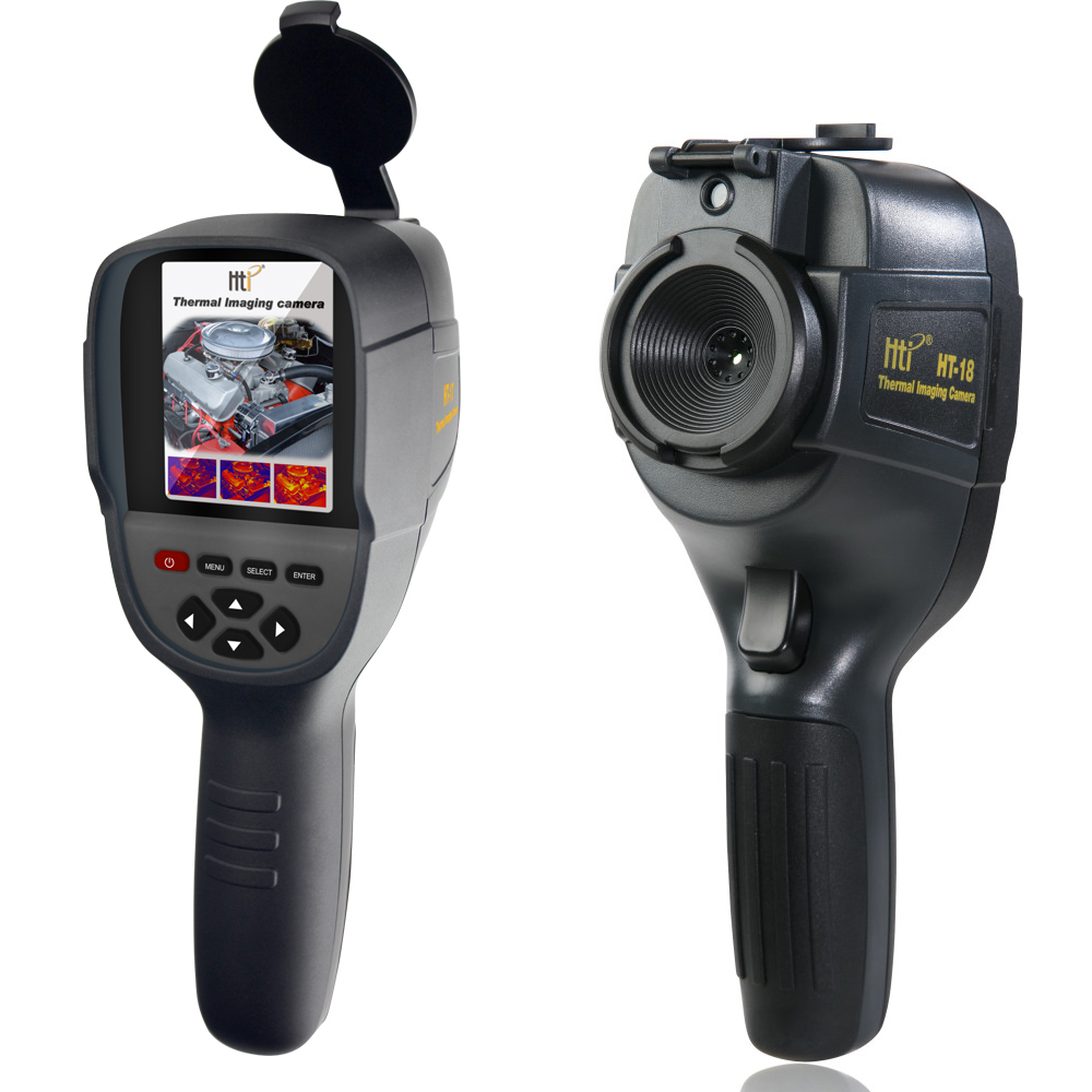 HT-18 Handheld IR Digital Thermal Imager Rilevatore di Telecamera A Raggi Infrarossi di Temperatura di Calore con storage partita Seek/FLIR Termico