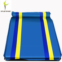 FLYTOP Camping Beach Mat Inflatable Double Mattress Single Beach Self inflating Travel Mat Outdoor Air Mattress For Sleeping Pad