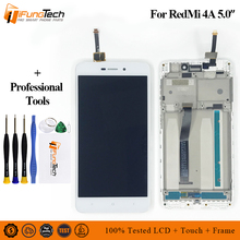 цены на For Xiaomi Redmi 4A LCD Display Touch Screen Digitizer Assembly For Xiaomi Redmi 4A Display With Frame 4A Pro Screen Replacement  в интернет-магазинах