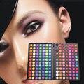 Profesional 168 Colores Pigmentadas Maquiagem Sombra de Ojos Maquillaje Paleta Neutral Shimmer Mate Sombra de Ojos Conjunto de Productos Cosméticos