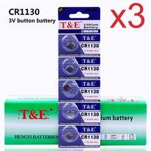 Anmas Power – lot de 3 piles boutons pour montre, 15 pièces, CR1130 1130 DL1130 BR113