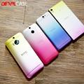 DEVILCASE Градиент Назад Наклейка Для HTC ONE M8/M9/M9 +/A9 Уникальный Изменение Цвета Наклейка Обложка