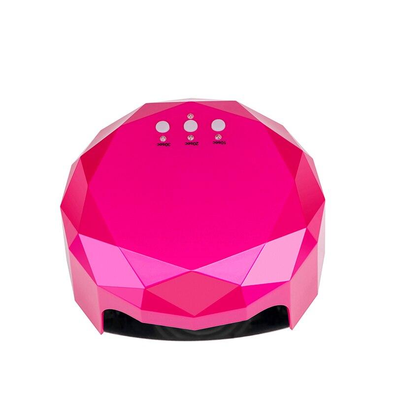 AIBOULLY Automatic Sensor 48W UV LED Nail Lamp Nail Dryer Nail Art Tools Perfect Thumb Nails Gel Solution Polish Curing Light