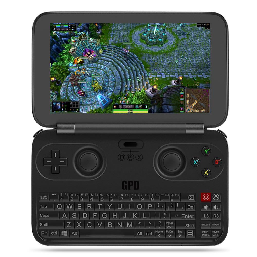 Цена за Обновление Версии GPD WIN 2017 Геймпад Портативный Ноутбук Tablet PC портативных Игровых Консолей Игры Игрок Windows 10 4 ГБ RAM 64 ГБ ROM