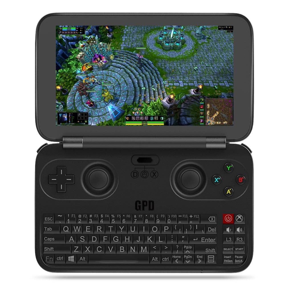 Upgrade Version GPD WIN 2017 Gamepad Laptop NoteBook Tablet PC Handheld Game Console Game Player Windows 10 4GB RAM 64GB ROM