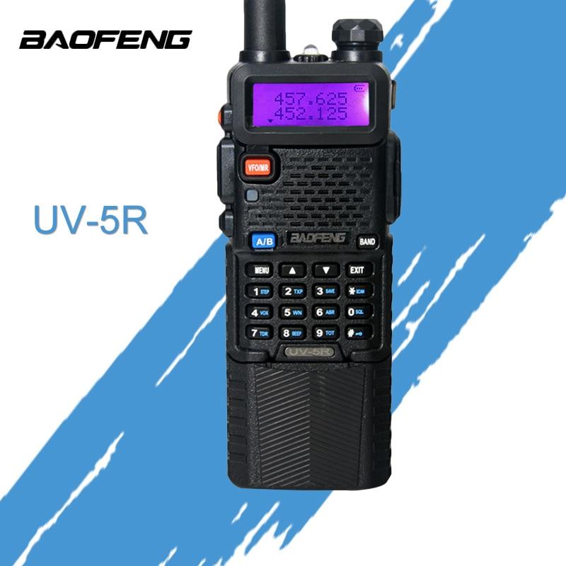 Baofeng UV 5R walkie talkie 3800 mAh batterie version Dual Band Radio UV-5R Funkgeräte tragbare Walkie Talkie
