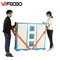 WFGOGO Forearm Forklift Lifting Moving Strap Transport Belt Wrist Straps Furniture For Home Move House Convenient
