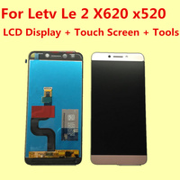 For Letv Le 2 X620 X520 LCD Display Touch Screen Tools 100 Original Digitizer Assembly Replacement