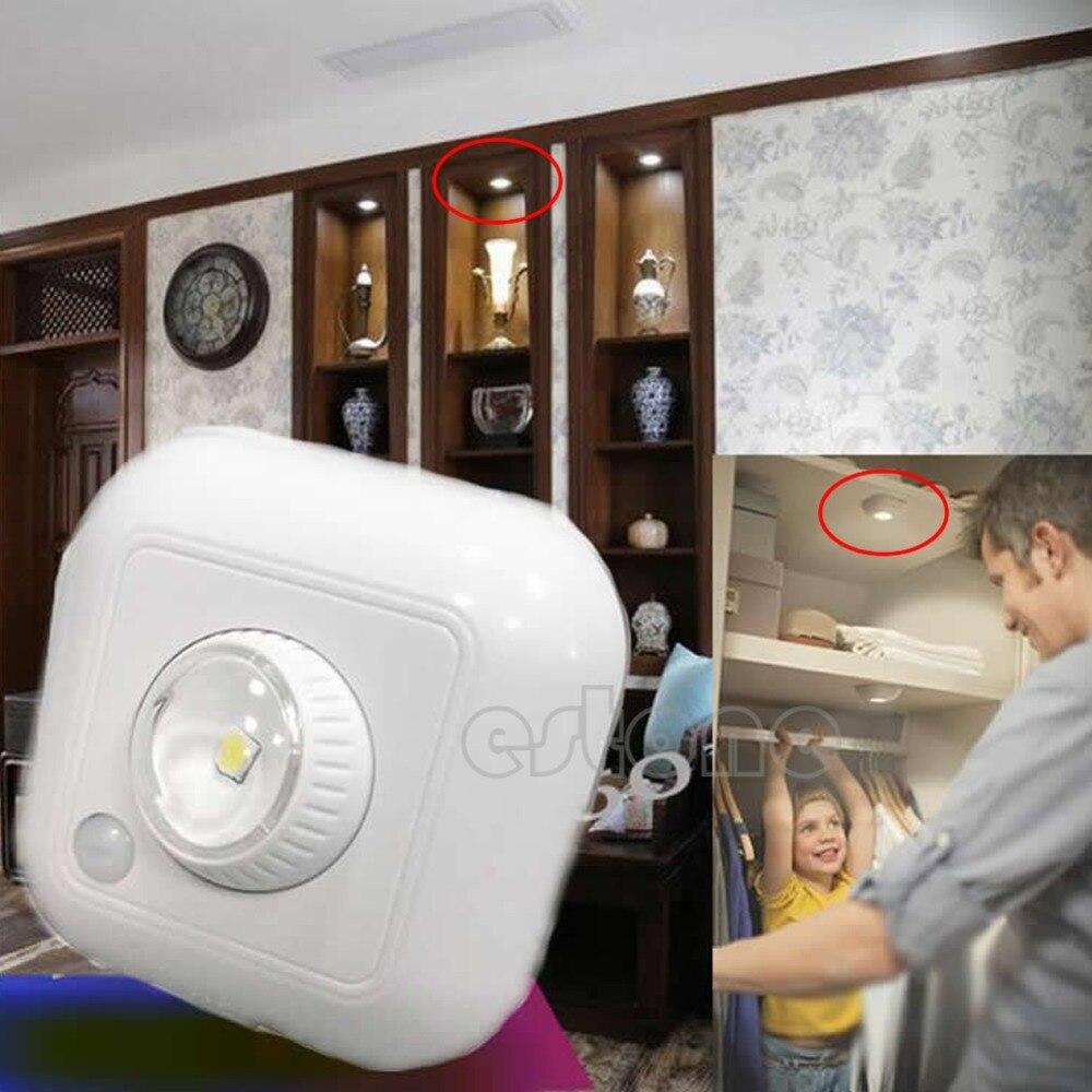 LED движения PIR зондирования место белый свет лампы обнаружения движения дома Security-Y103 ...