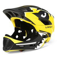 Lixada Kids Detachable Full Face Helmet Children Sports Safety Helmet For Cycling Skateboarding Roller Skating Sport Protection