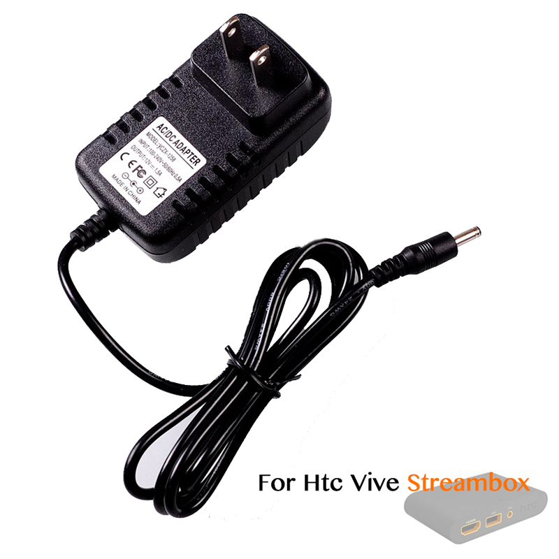 Streambox Charger transformer, cable length 1.2m For htc vive headset Streambox ...