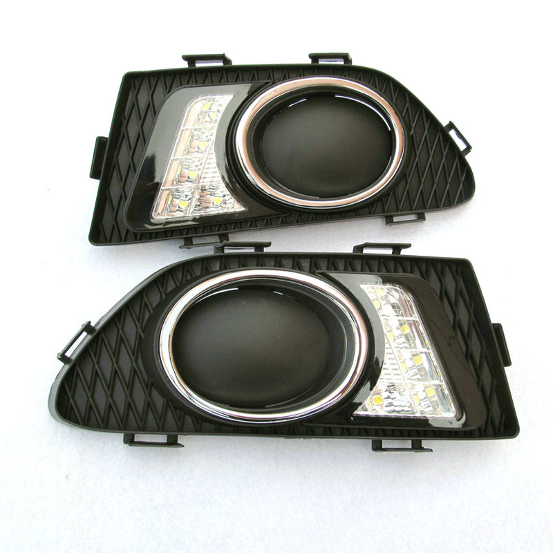2Pcs /LED DRL Daytime Running Lights For Great Wall C30 Signal Light C30 Daytime Running Light Fog Light Modification