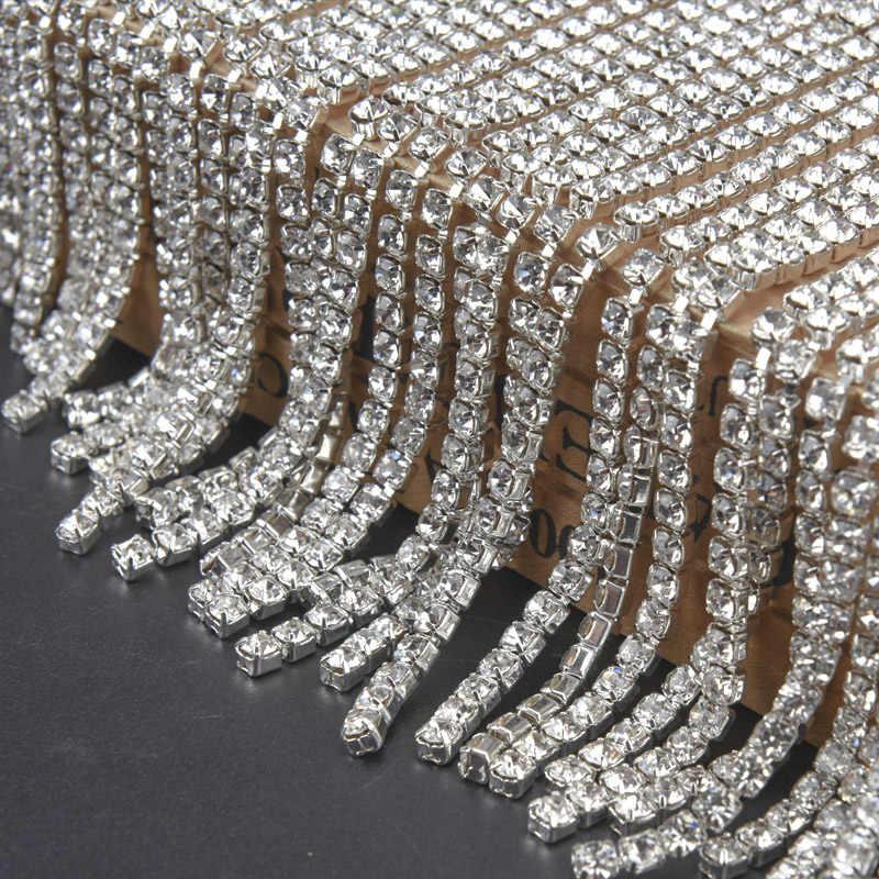 1 piece Rhinestone Trim For wedding Decorations Accessories DIY Useful
