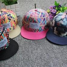 2020 Brand Summer Baseball Cap Graffiti Sun Caps Hip Hop Visor Spring Hat Adjustable Snap-back Hats for Women Golf Caps Casual