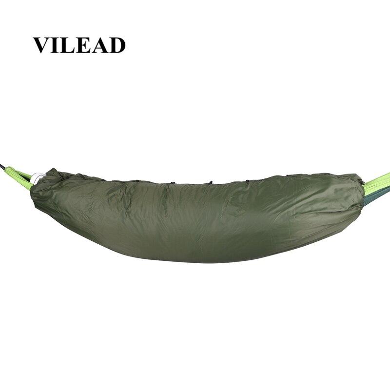 VILEAD Portable Hammock Sleeping bag Ultralight Waterproof Camping Hiking Outdoor Sleep Bed Adult Survival Winter Bed Bag Travel-in Sleeping Bags from Sports & Entertainment