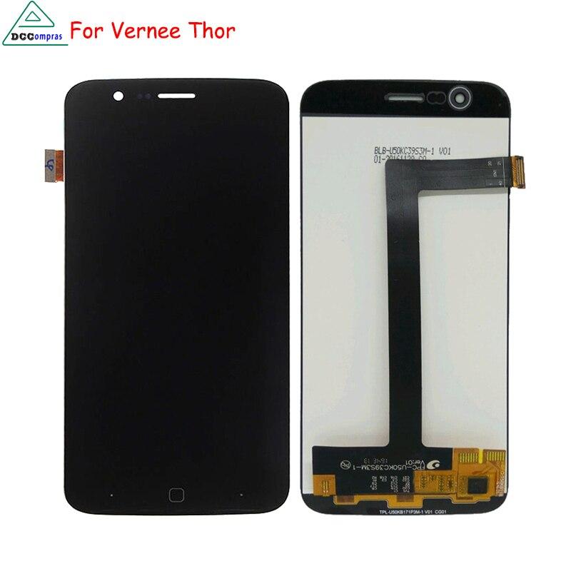imágenes para Para Vernee Pantalla LCD de Pantalla Táctil Digitalizador de Piezas Del Teléfono Para Vernee Thor Thor Pantalla LCD Herramientas Gratuitas