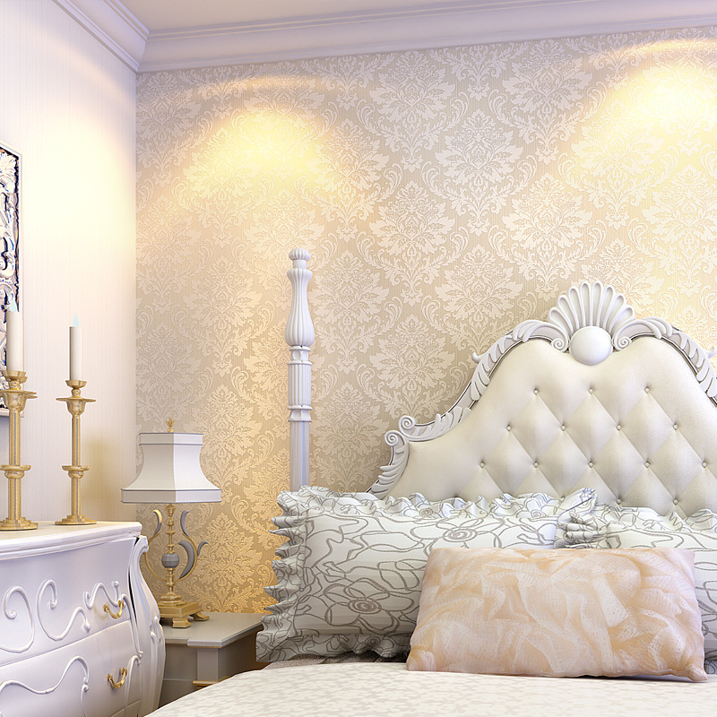 beibehang Non-woven Textured feature Vintage Glitter damask wall Wallpaper coverings papel de parede 3d wall paper Roll bedroom  beibehang wall coverings mural wall paper roll bedroom sofa off white textured feature europe vintage glitter damask wallpaper