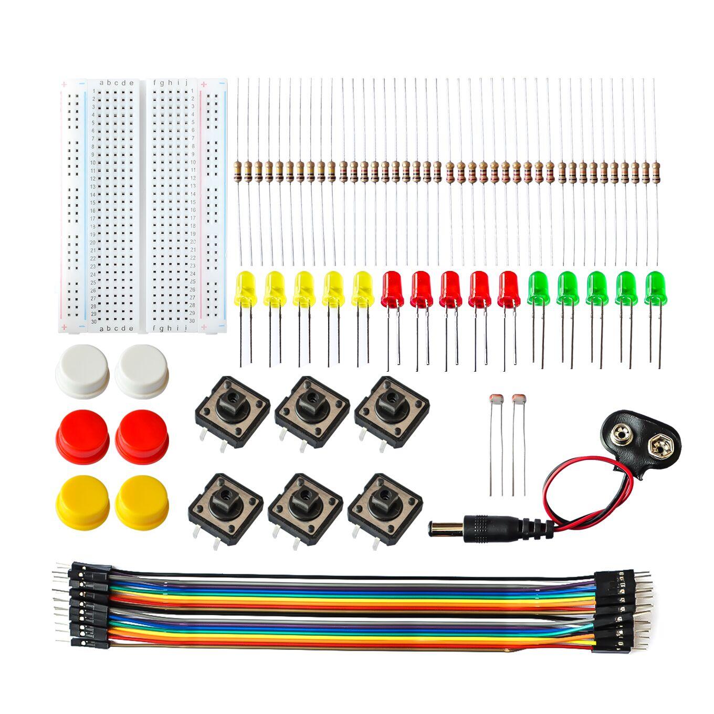 Starter Kit Uno R3 Mini Breadboard LED Jumper Wire Button For Arduino Diy Kit School Education Lab