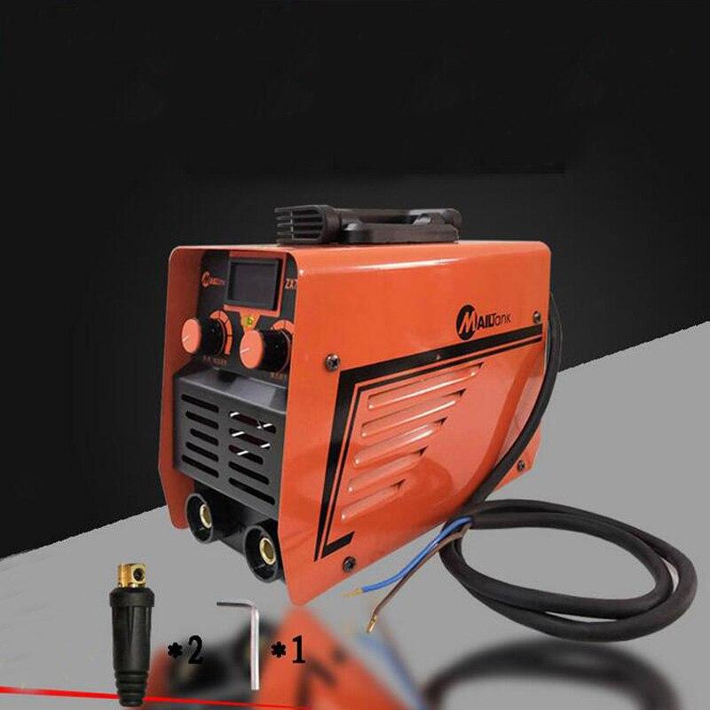 Digtal 200AMP 220V DC Inverter Welder Mini Handheld Arc Welding Machine MMA IGBT