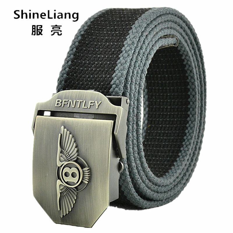 Tactical belts for men Fashion brand Buckle Alloy material Military Canvas Width 3.8CM Designer High-quality Match male jeans