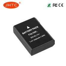 JHTC 1pc  1030mAh EN-EL14 EN-EL14+ Battery Pack for Nikon P7200 P7700 P7100 D5500 D5300