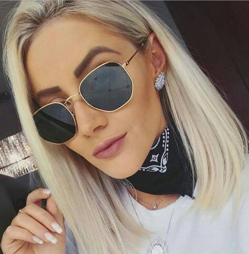 Thepass Vintage Sunglasses Retro Love Ocean Piece Street Beat Peach Heart Shaped Sunglasses