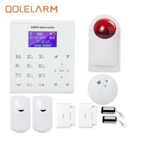 433mhz Wireless SIM Card Wifi Gsm Home Alarm With Camera Android IOS APP Control With Yoosee