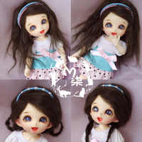 1PCS 6Colors Doll Accessories SD BJD Doll Wigs 1/8 1/12 Wigs For Dolls DIY
