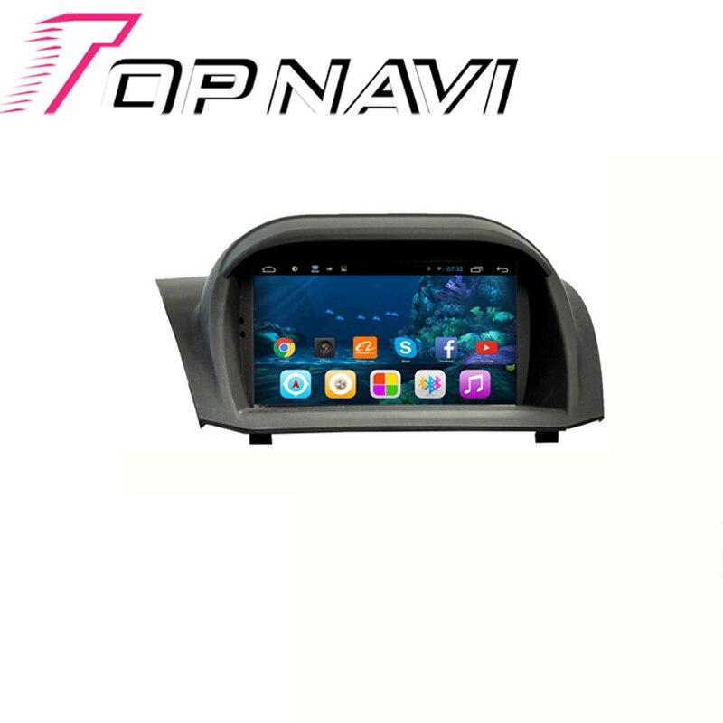 Topnavi 7 'Android 6,0 Автомобильный gps Navi для Ford Fiesta 2009 2010 2011 2012 2013 2014 медиацентр плеер стерео без DVD 1G + 16G 3g