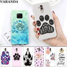 цена на Dogs are girls best friends Dog paw Soft Cases for Huawei Mate 10 20 Pro Mate 20 Lite P20 P30 Lite P Smart Plus Case Coque