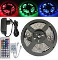 5M 3528 Non-Waterproof SMD RGB LED Flexible Strip 300 leds 5M 3528 RGB led strip + 44keys control +12v 2a Power adapter