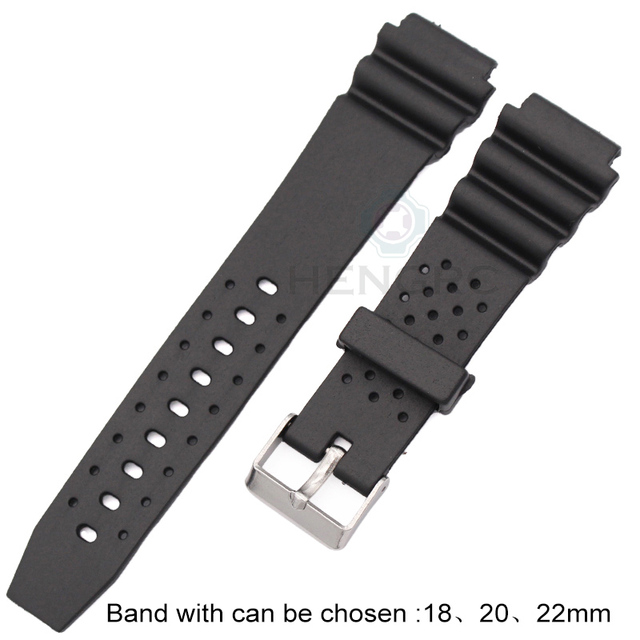 Watchband Silicone Rubber Band Men Sports Diving Black Strap For CASIO Replace Electronic Wristwatch Belt Watch Accessories | Watchbands