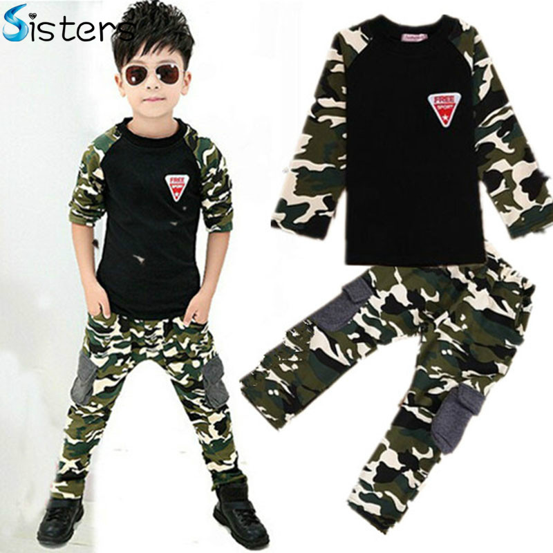 New Camouflage Kids Clothing...