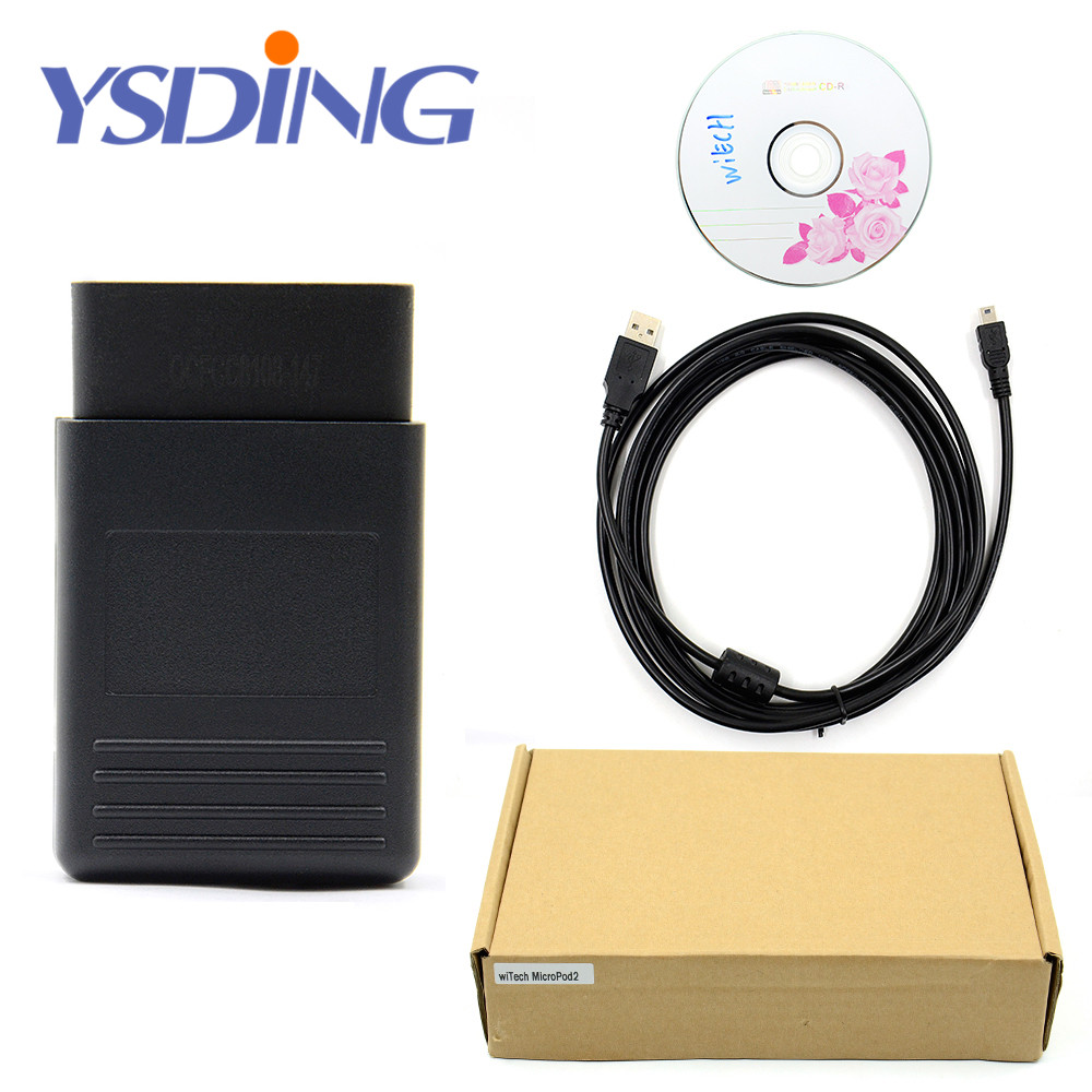 Luxury High Quality WiTech MicroPod 2 Diagnostic Programming Tool V17.04.27 for Chrysler with Multi-language With HDD