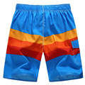 summern New Men's spell color casual shorts beach shorts Men's brand Fashion quick-drying loose shorts high quality