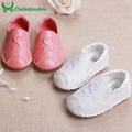"Genuine Leather Baby Moccasins Soft  Girls Boys Shoes Newborn Girl Children Footwear Korean Casual With letter ""S"" Size 3-5"