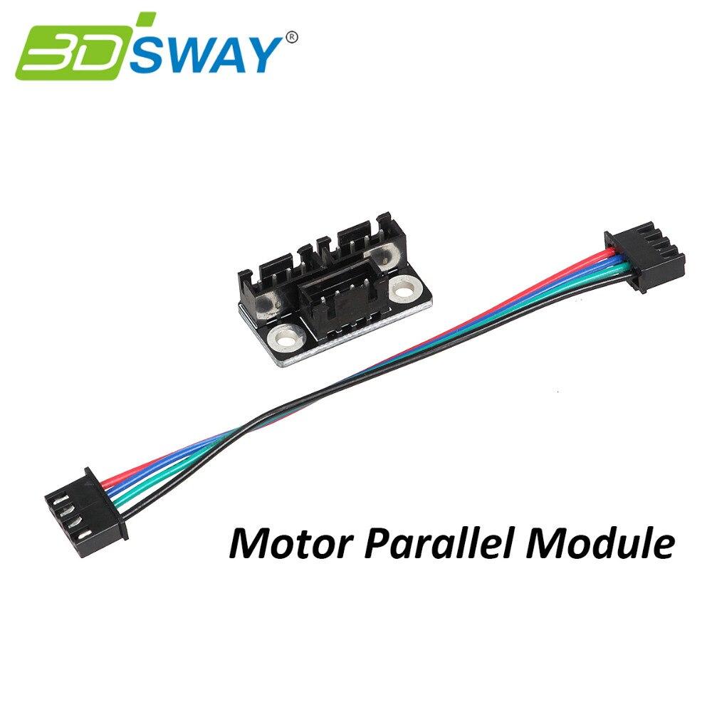 3DSWAY 3D Printer Parts Motor Parallel Module For Double Z