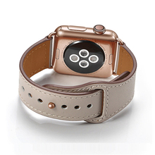 Genuine Leather Band Strap For Apple Watch 42mm 44mm , VIOTOO Accessories WatchBand iWatch Bracelet
