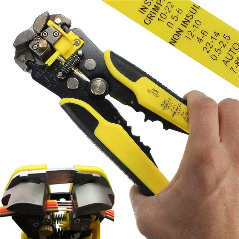 Drillpro 1 Stück Automatische Zange Draht Striper Cutter Stripper Crimper Dekrustation Zange Terminal Hand Werkzeug Top Qualität Mit Traditionellen Methoden Handwerkzeuge