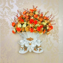 European Angel vase, creative resin vase, Home Furnishing decoration technology