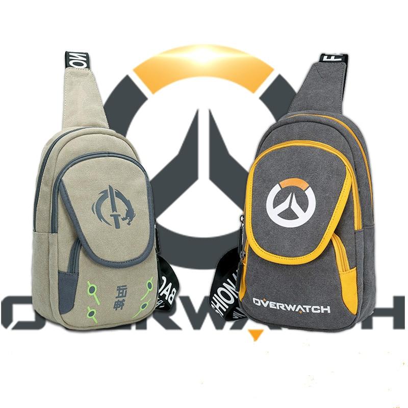 New Arrival For Overwatch Shoulder Bag DOTA LOL Esport Gaming bags Students Backpack Laptop Bag For