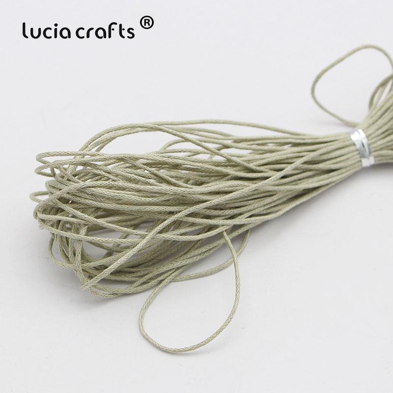 1 мм вощеная нить, хлопковый шнур, веревка, ожерелье, бусы, веревка, цвета, как показано на картинке(10 лет/Лот) W0703 - Цвет: Color 1
