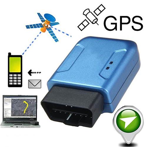 Portable OBD II Car Vehicle Truck GSM GPRS GPS Tracker Realtime Tracking Device